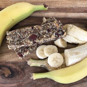 Banana Bliss vegan bar